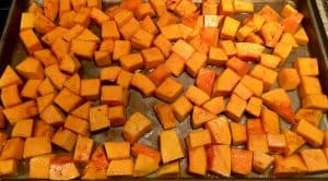 Beautiful Roasted Butternut Squash