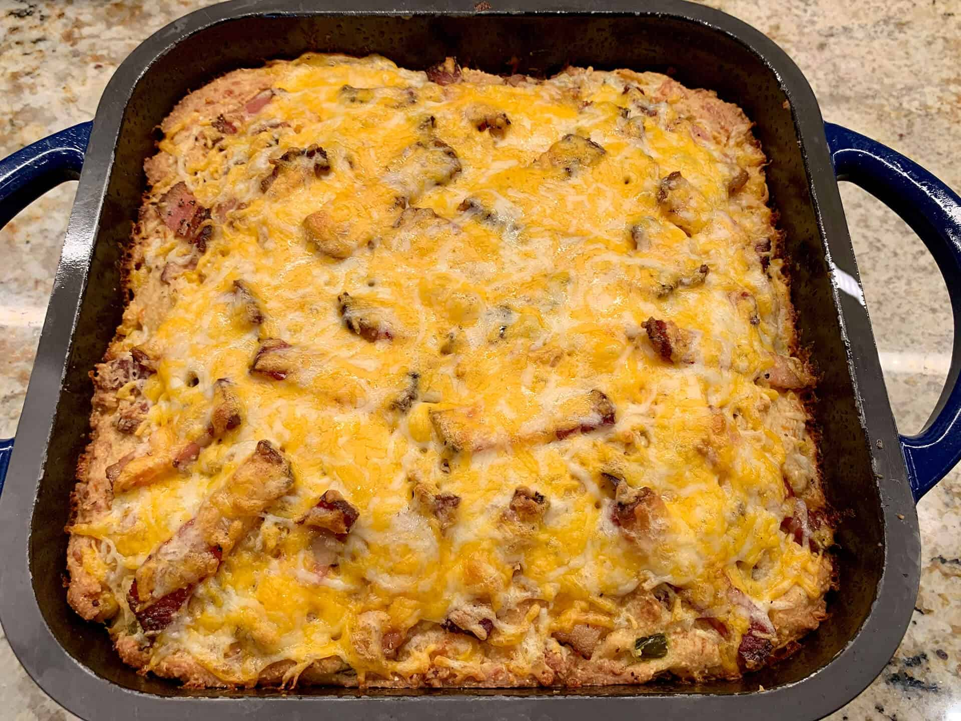 Bacon Cheddar Cornbread Recipe