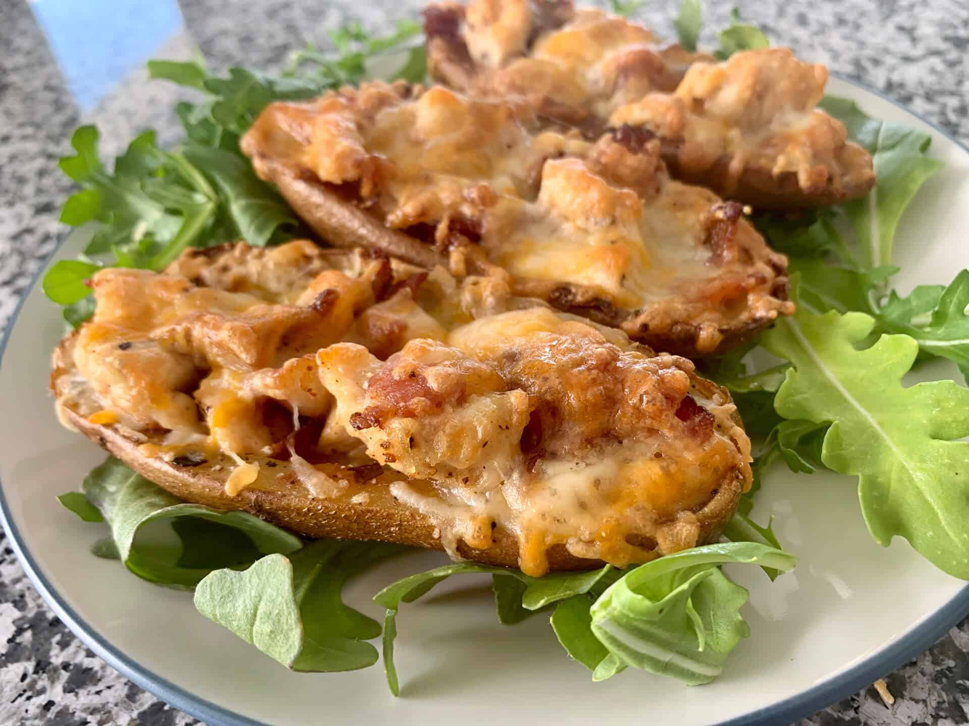 Chicken & Bacon Potato Skins